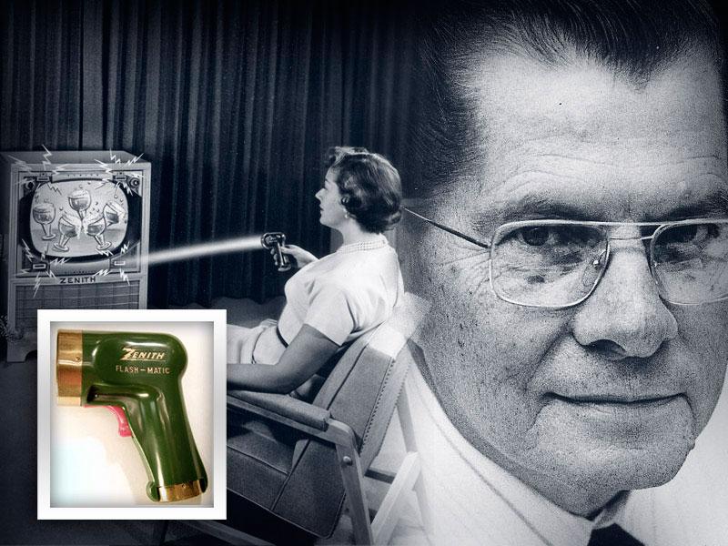 Eugene Polley, avagy a vezeték nélküli távirányítók feltalálója